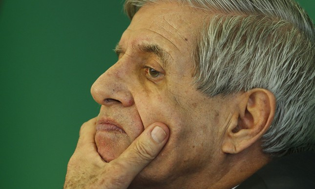 O ministro Augusto Heleno, chefe do GSI