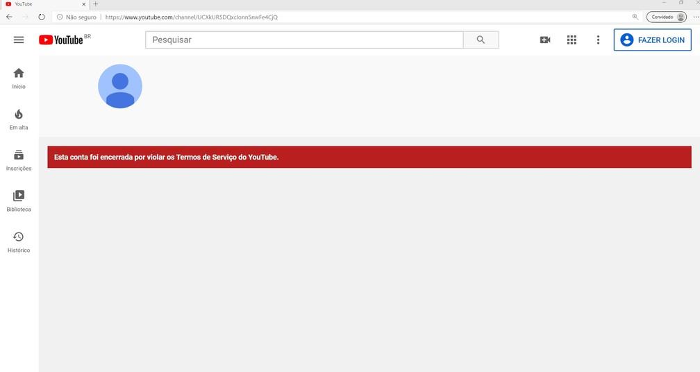 YouTube derruba o canal de Sara Giromini após expor nome e localização de menina que foi estuprada e engravidou