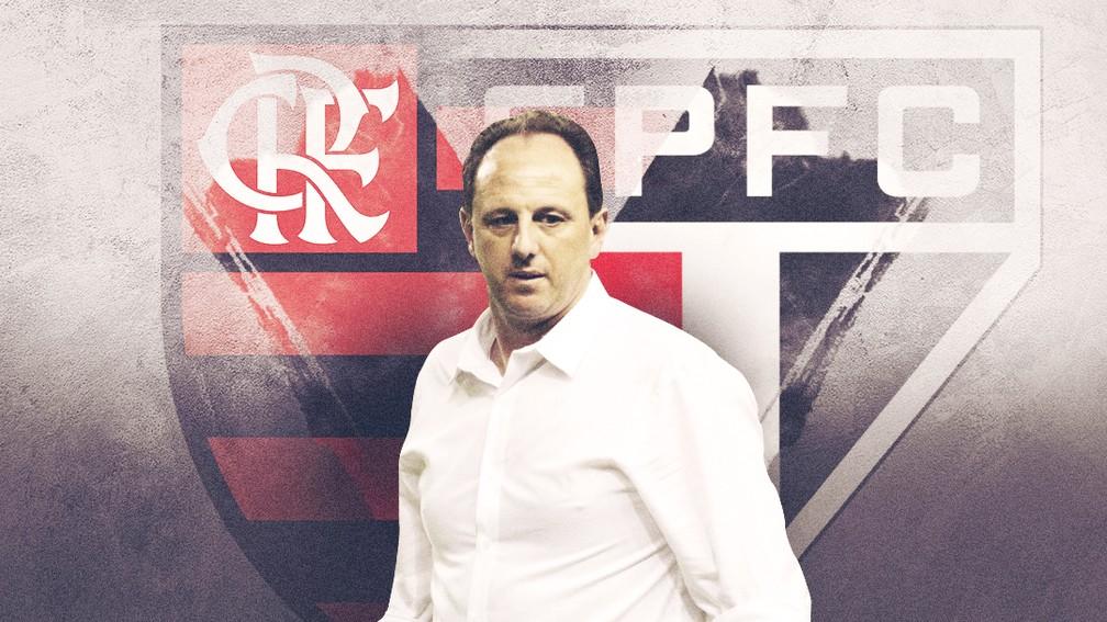 Ceni, técnico do Flamengo, vai reencontrar o São Paulo, onde é ídolo — Foto: ge