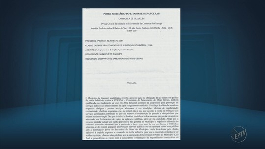 Justiça de Guaxupé proíbe Copasa de fazer obras sem autorização da Prefeitura