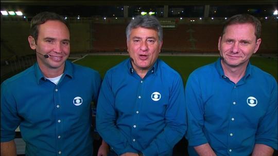 Comentaristas analisam atuação do Cruzeiro diante do Santos
