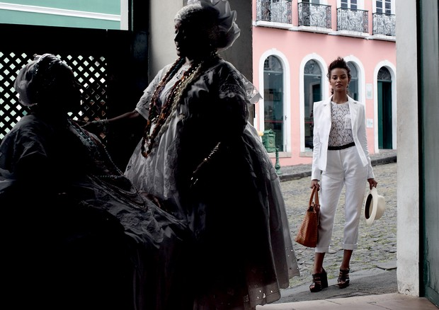 Salve, Salvador (Foto: Bob Wolfenson/Arquivo Vogue)