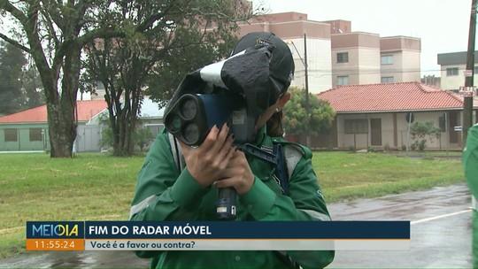 Vereador quer proibir o uso de radar móvel em Cascavel