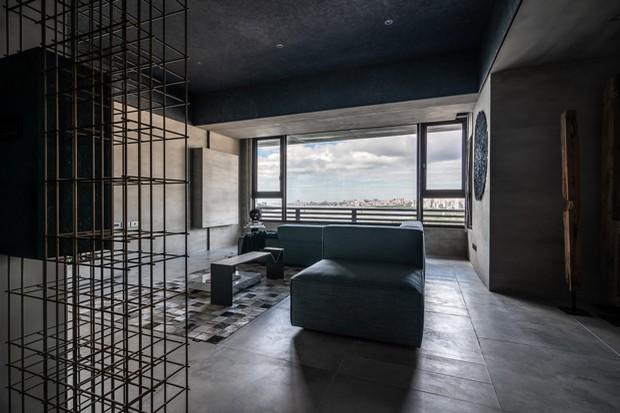 Apartamento minimalista se guia pela arte e pela pureza (Foto: FOTOS WEI YI INTERNATIONAL DESIGN ASSOCIATES/DIVULGAÇÃO)