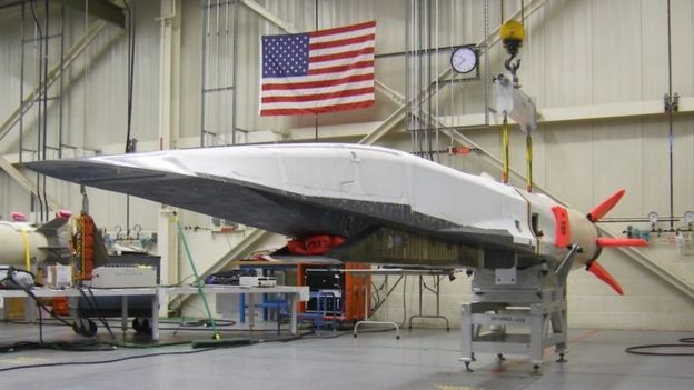 Os EUA apresentaram, em 2010, o Boeing X-51, um míssil de cruzeiro hipersônico (Foto: US Air Force via BBC)