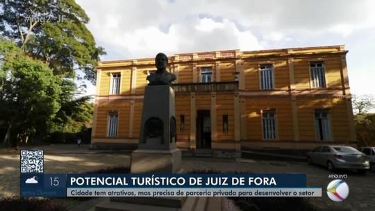 Desenvolvimento do turismo depende de recursos da iniciativa privada em Juiz de Fora