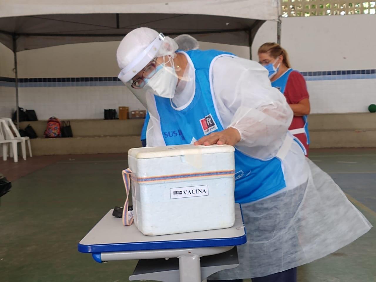 João Pessoa segue com aplicação de segundas doses de vacinas contra a Covid-19 nesta quinta (17)