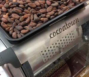 Máquina da Cocoatown (Foto: Priscila Zuini)