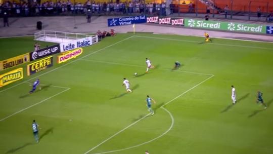 Jailson brilha contra o Santos com quatro defesas difíceis