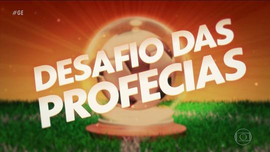 """Comentaristas encaram """"videntes"""" em desafio das profecias do mundo do futebol"""