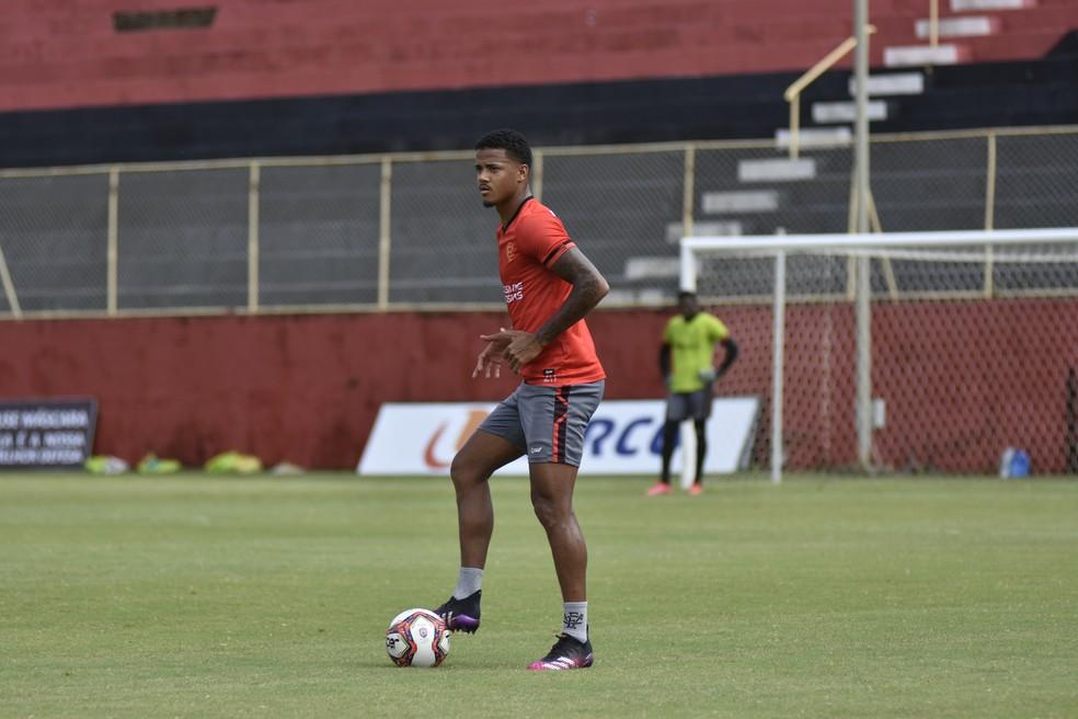 Ygor Catatau em treino do Vitória — Foto: Pietro Carpi / Divulgação / EC Vitória