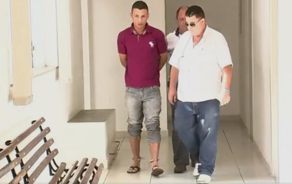 Leonardo Daniel de Oliveira foi condenado a quatro anos em regime aberto — Foto: Reprodução/TV TEM