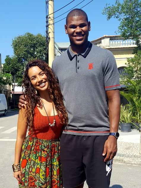 Cristiano Felício e Gabriela Moreyra (Foto: Divulgação)