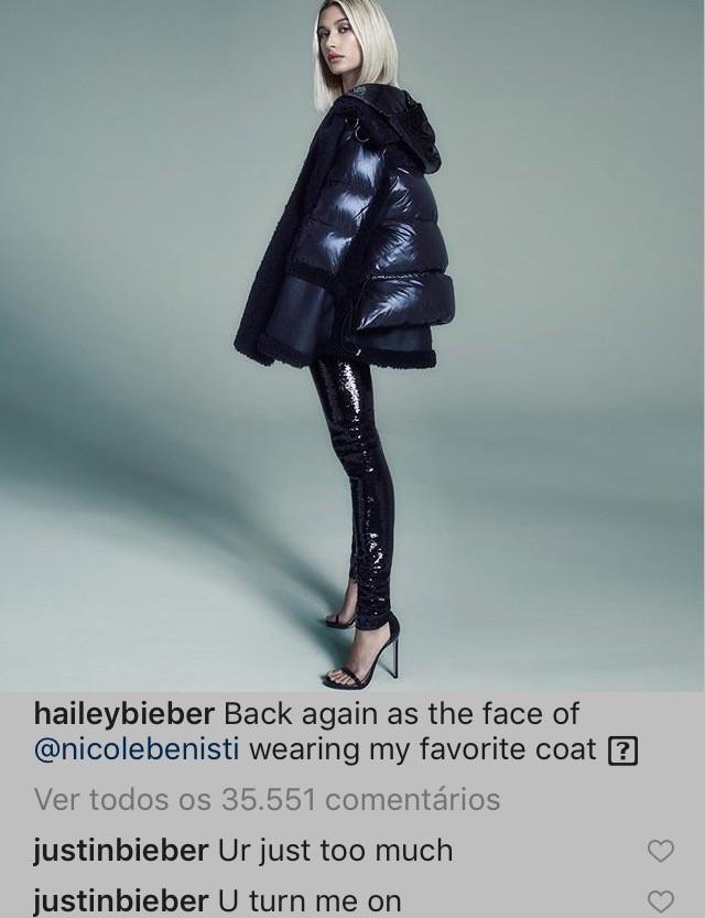 Instagram de Hailey Bieber (Foto: Reprodução Instagram)