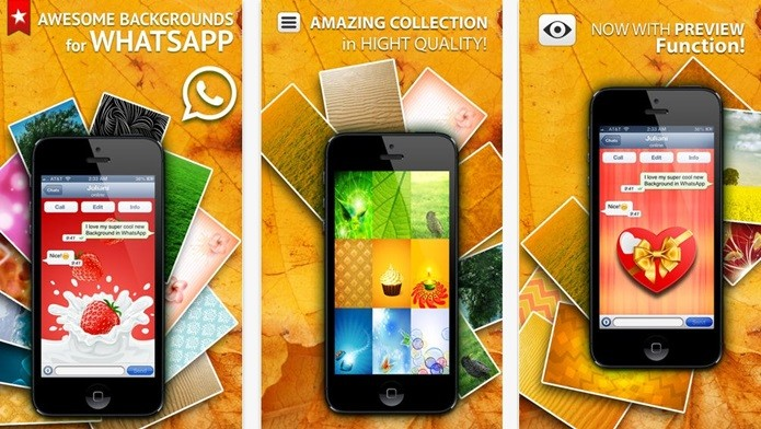 Backgrounds for WhatsApp Messenger & Hangouts &