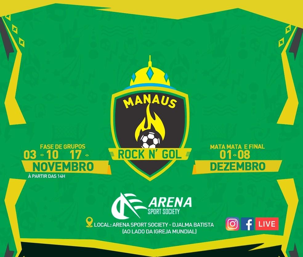 Manaus Rock N' Gol — Foto: Divulgação