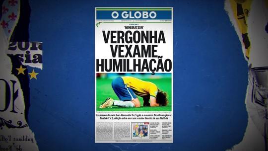 4 anos do 7 a 1: Redação SporTV relembra a pior derrota da história da Seleção Brasileira