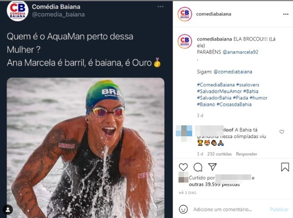 Meme com Ana Marcela — Foto: Reprodução / Redes Sociais