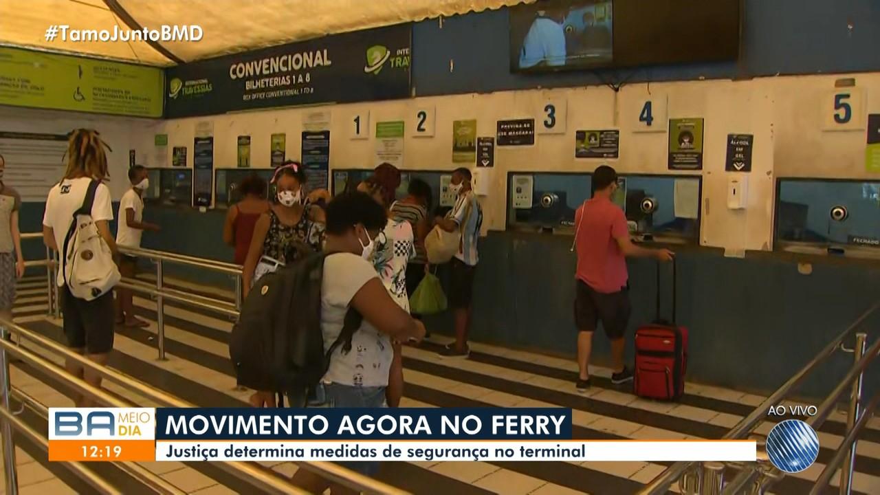 Terminal de São Joaquim tem movimento intenso às vésperas do feriado prolongado