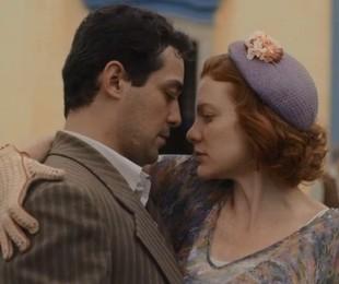 Eduardo Sterblitch e Maria Eduarda brilham em 'Éramos seis' (Reprodução)