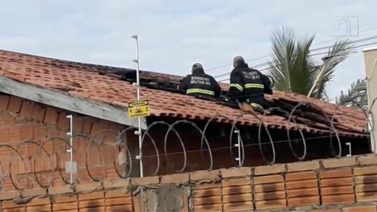 Chuveiro elétrico causa incêndio em residência de Campo Grande