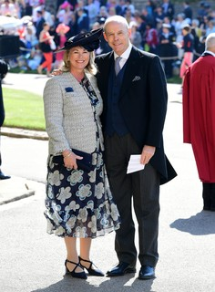 Sir Clive Woodward e Jayne Williams