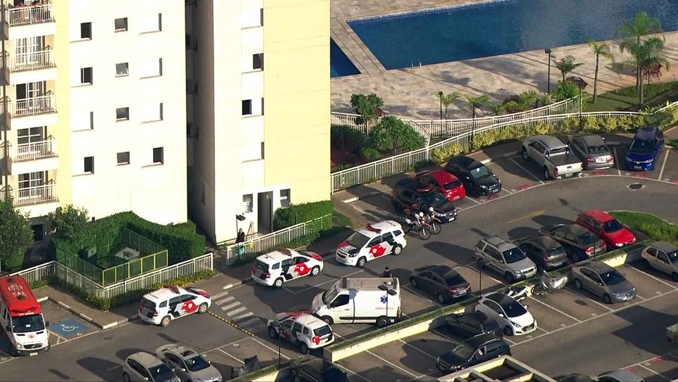 PM mata esposa e se mata na sequência (Foto: Reprodução/TV Globo)
