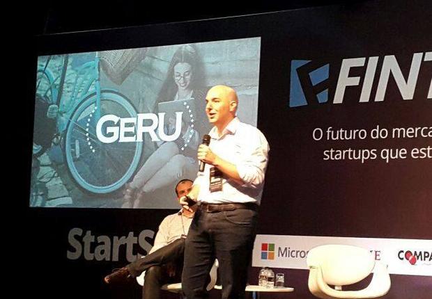 Sandro Reiss, fundador da Geru, durante a Fintech Class. Plataforma vai investir em nova frente (Foto: Reprodução/Facebook/Geru)