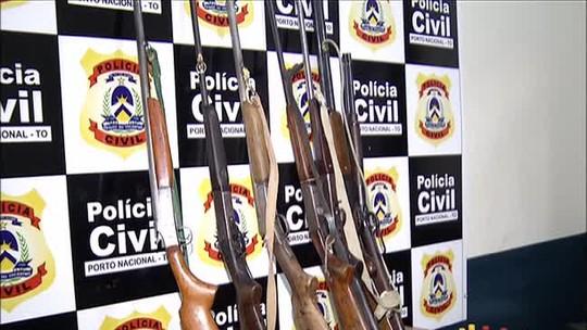Vigia suspeito de furtar armas de Fórum é preso em operação no TO