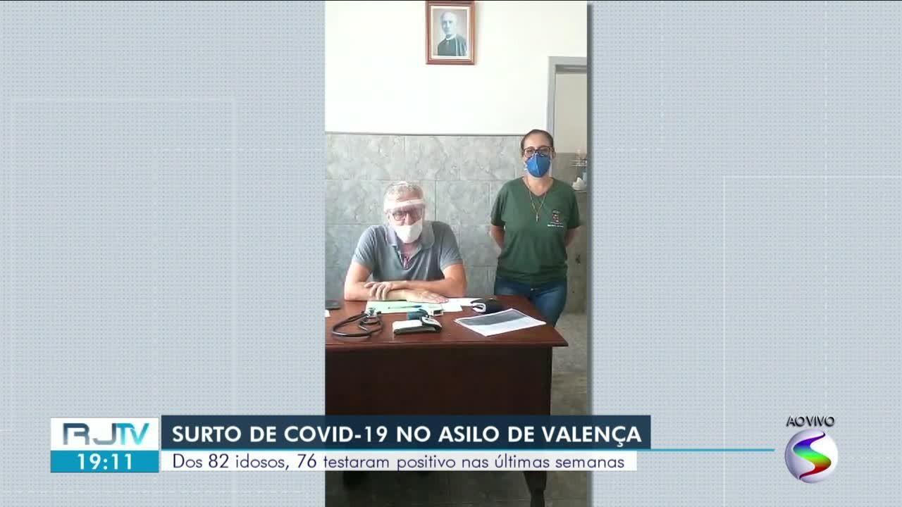 Surto de Covid-19 atinge asilo em Valença; 76 de 82 idosos foram infectados