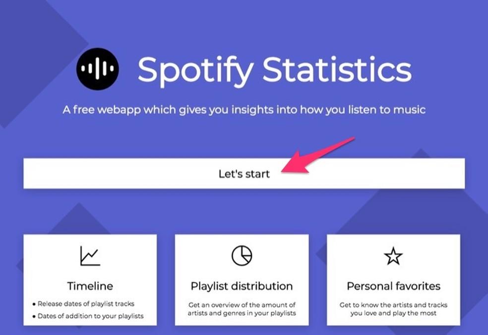 Spotify Statistics: como descobrir suas músicas e artistas