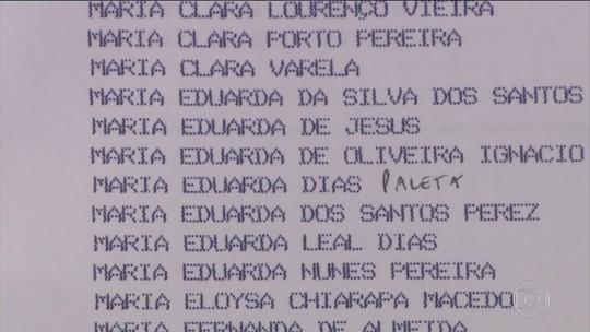 Pesquisa revela nomes mais escolhidos para os filhos no Brasil