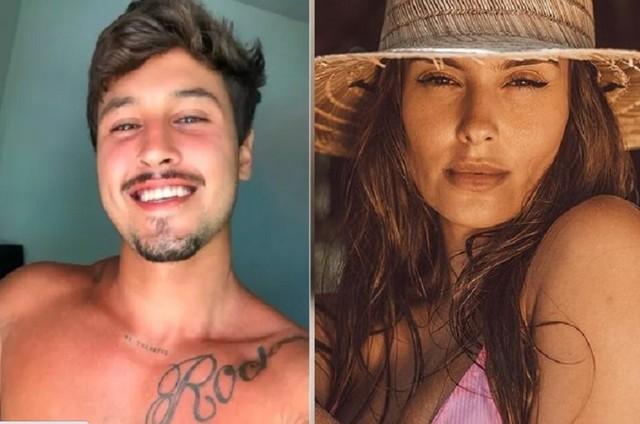 Lucca Dias e Thaís Braz (Foto: Reprodução)