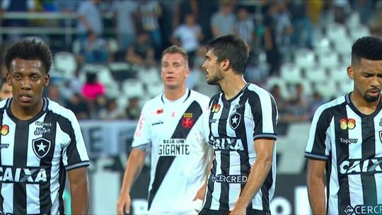Ruim para os dois: Botafogo e Vasco só empatam no Nilton Santos