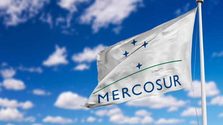 Mercosul, bandeira (Foto: Divulgação)