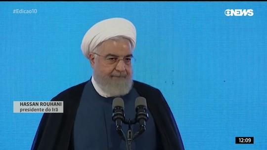 Presidente do Irã diz que só conversará com Donald Trump se EUA retirarem sanções