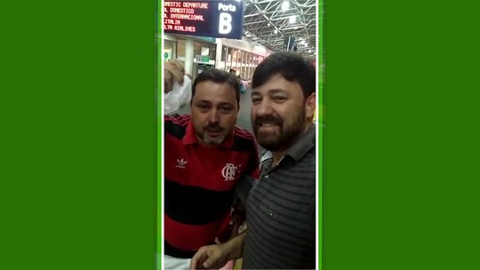 Torcedor do Flamengo manda cinzas da mãe para serem jogadas no estádio da final da Libertadores