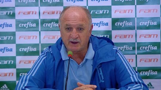 Felipão elogia Dudu e Deyverson, mas diz que Palmeiras pode ser ainda melhor