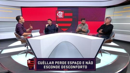 """Para Rizek, Cuéllar sai perdendo em impasse com Flamengo: """"Jogador é sempre menor que clube"""""""