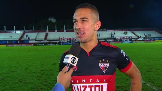 """Após marcar de falta, Nicolas revela  gols nos treinos e brinca: """"O pessoal tava cobrando"""""""