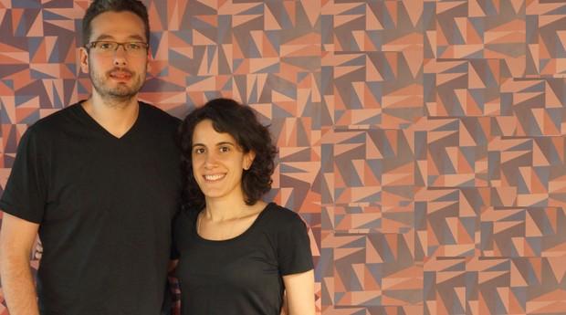 Thiago Padovan e Rosine Kadaman: donos da Blockchain Academy (Foto: Divulgação)