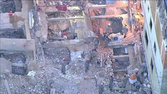 Justiça do RJ manda prender 3 suspeitos por queda de prédios