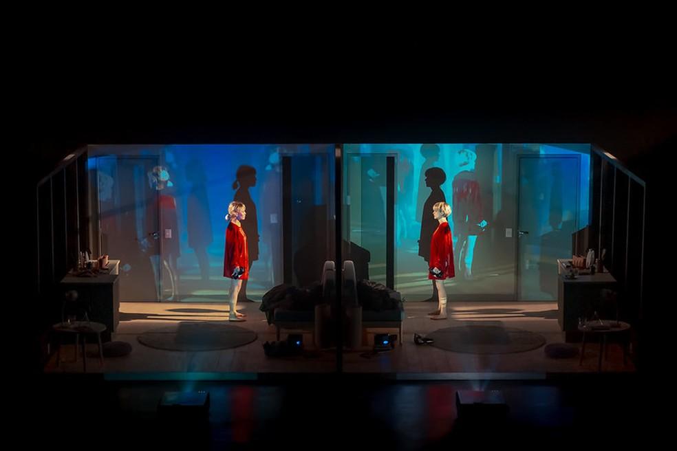 Cena do espetáculo 'A Desumanização' — Foto: CCBB/Divulgação