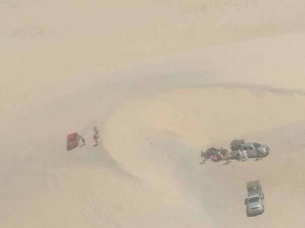 Acidente foi registrado pela Secretaria de Segurança por volta das 12 horas desta terça-feira (Foto: SSPDS/Divulgação)