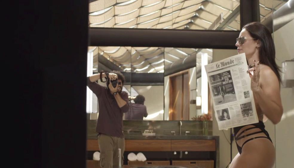 ALERTA MUSA: Vivi Guedes faz ensaio ousado pelas lentes do fotógrafo Téo — Foto: TV Globo