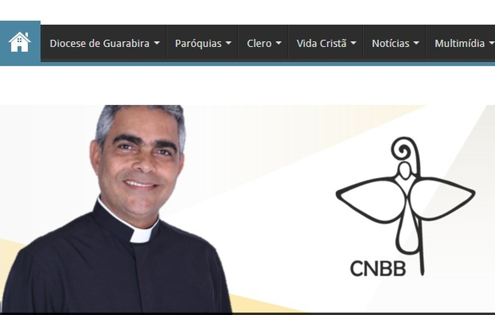 Papa Francisco nomeia Aldemiro Sena dos Santo novo bispo para Diocese de Guarabira, no Agreste da PB (Foto: Reprodução/Site da Diocese de Guarabida)