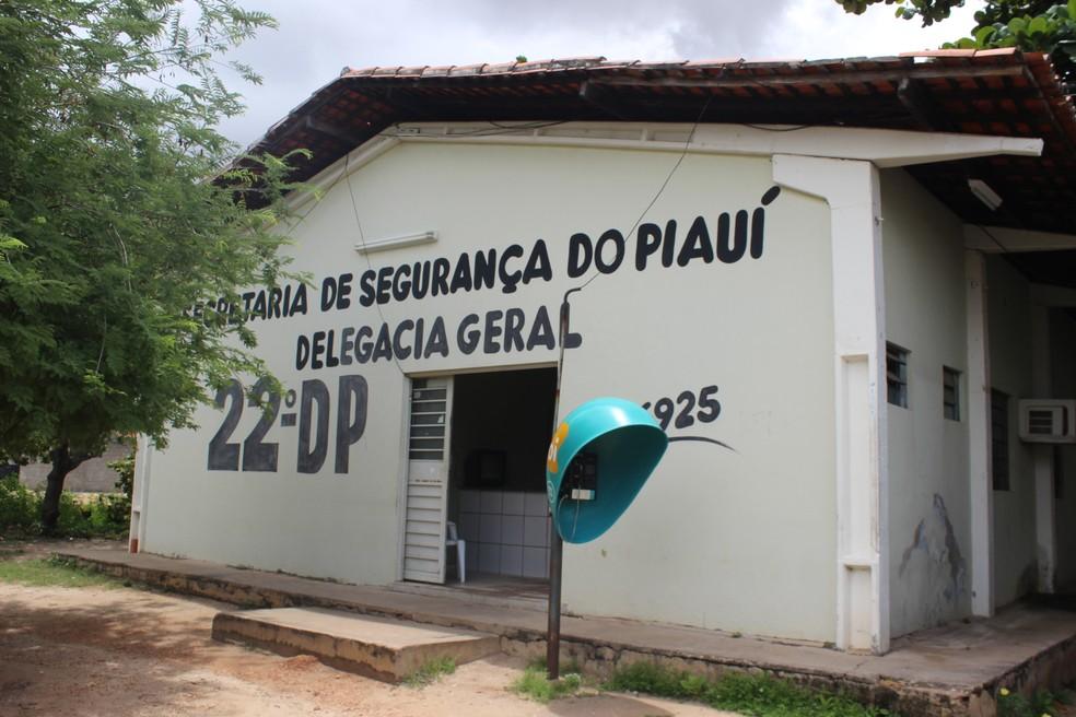 22º Distrito Policial na Zona Norte de Teresina — Foto: Gustavo Almeida/G1