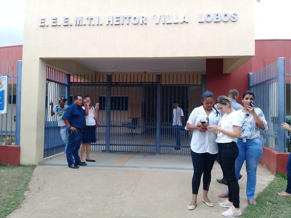 Eleição para Conselho Tutelar é suspensa em Ariquemes, RO — Foto: Franciele do Vale/Rede Amazônica