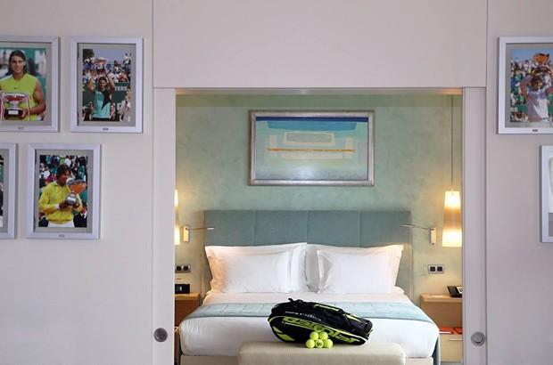Rafael Nadal é homenageado com suíte em resort de Mônaco (Foto: Divulgação)