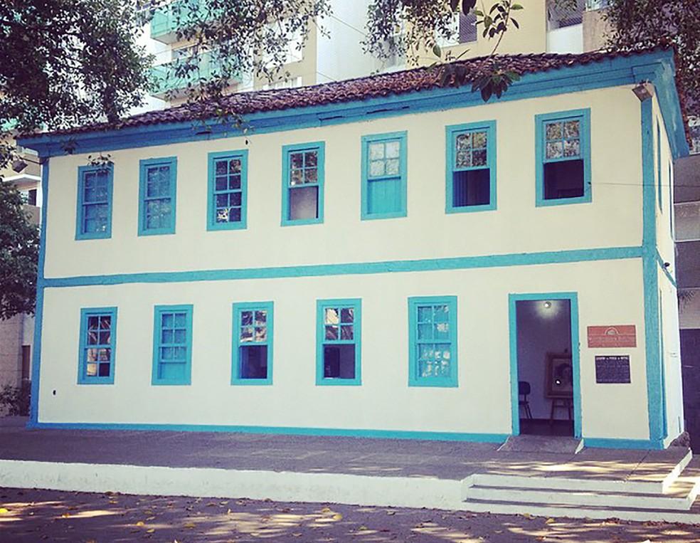 -  Sobrado abrigava o Museu Histórico de Divinópolis  Foto: Christyam de Lima/Divulgação